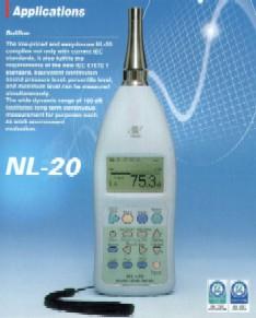 日本理音NL20 声级计 NL-20