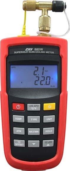 空调用之过热过冷压力计TN-885系列