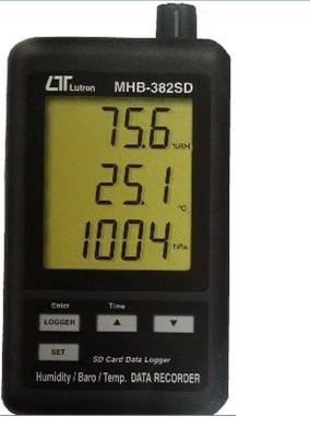 MHB-382SD 温湿度大气压力记录仪