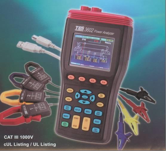 TES-3602 电力质量分析仪(停产)