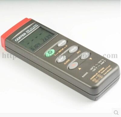 温度表(温度计)CENTER-304(4通道RS232 可配蓝牙模块)