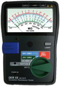 DE-5012指针式绝缘电阻计DE5012