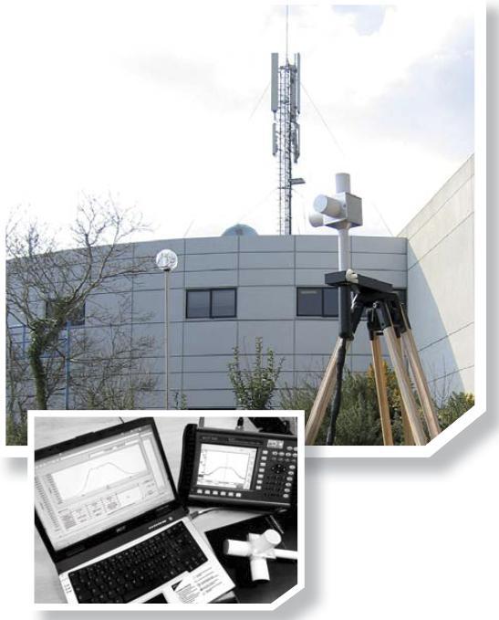 法国MVG (SATIMO) INSITE Free窄带电磁场辐射监测仪