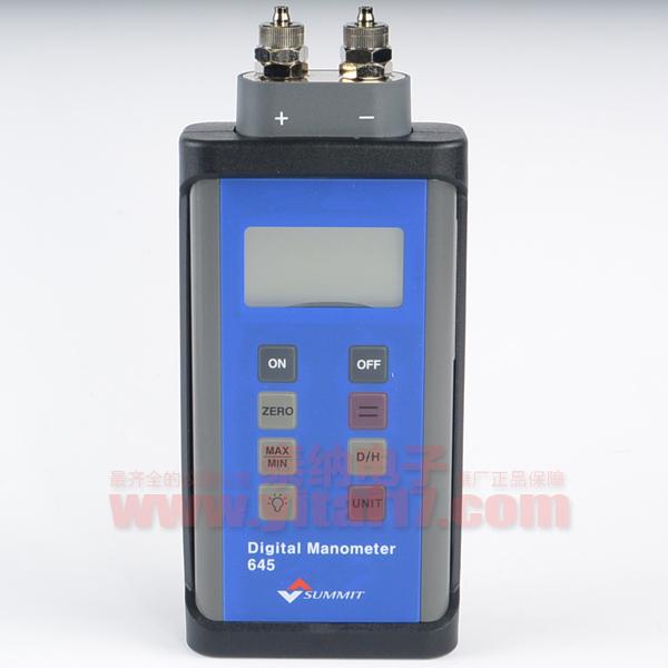 数字气体压力表SUMMIT-645双通道