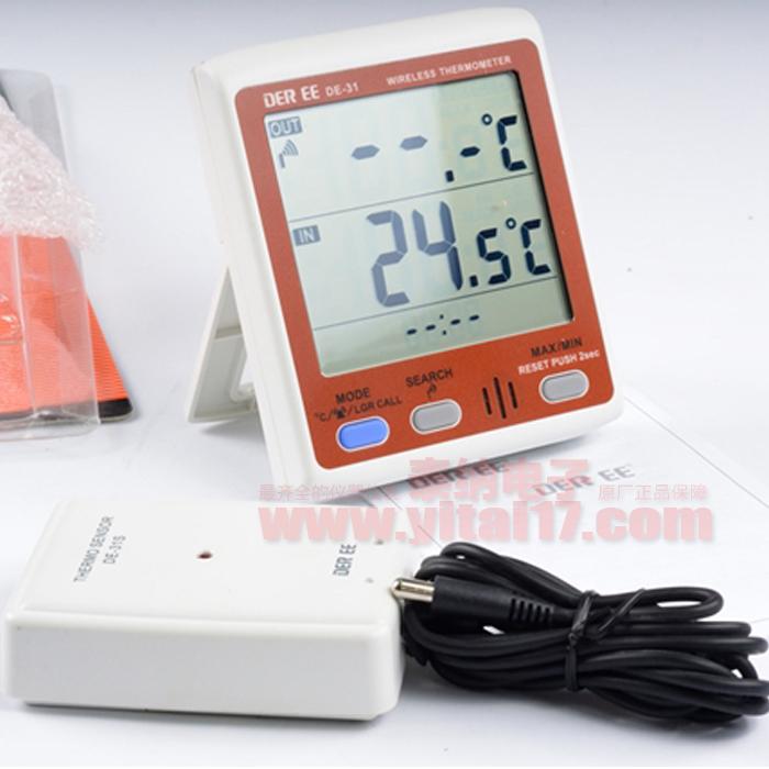 DE-31 无线遥控温度记录器(子母机型)DE31