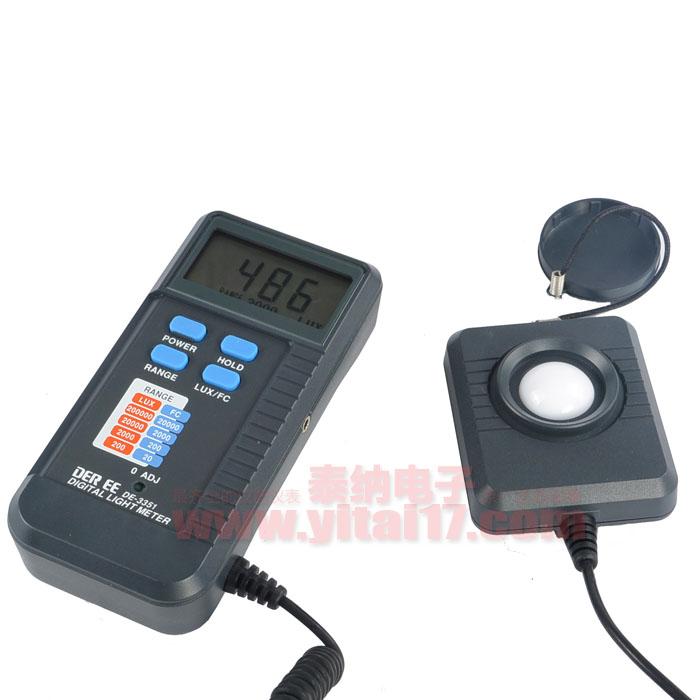 模拟信号输出照度计 DE-3351