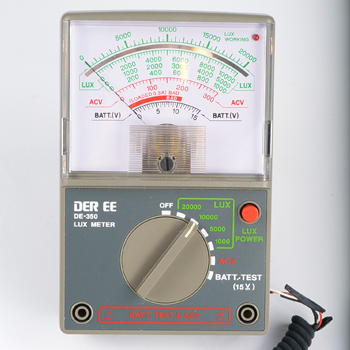 DE-350指针式照度计DE350