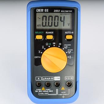 DE-2002数字万用表DE2002