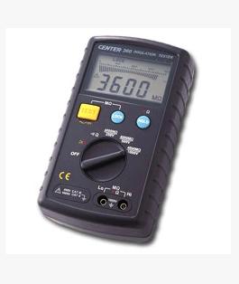 数位绝缘电阻计(兆欧表)CENTER-360