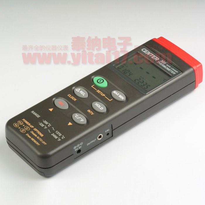 CENTER305数据记录器温度表(温度计)CENTER-305(可配蓝牙模块)