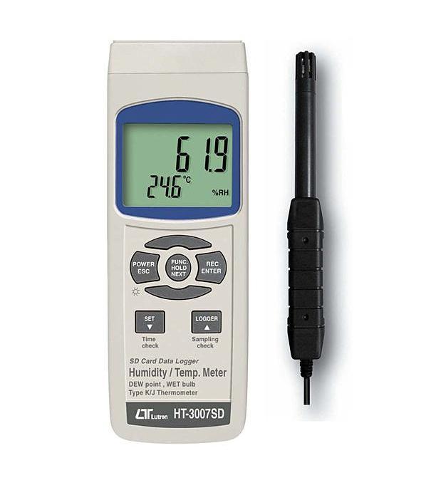 HT-3007SD记忆式温湿度计,HT3007SD