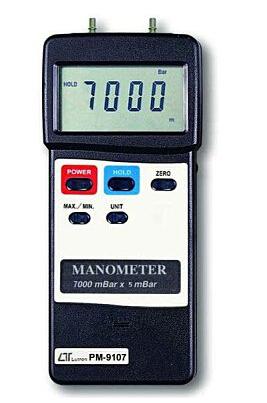 PM-9107 压力/差压计(可选配WiFI无线传输模块)