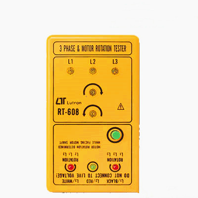 RT-608 三相电源/马达检相器