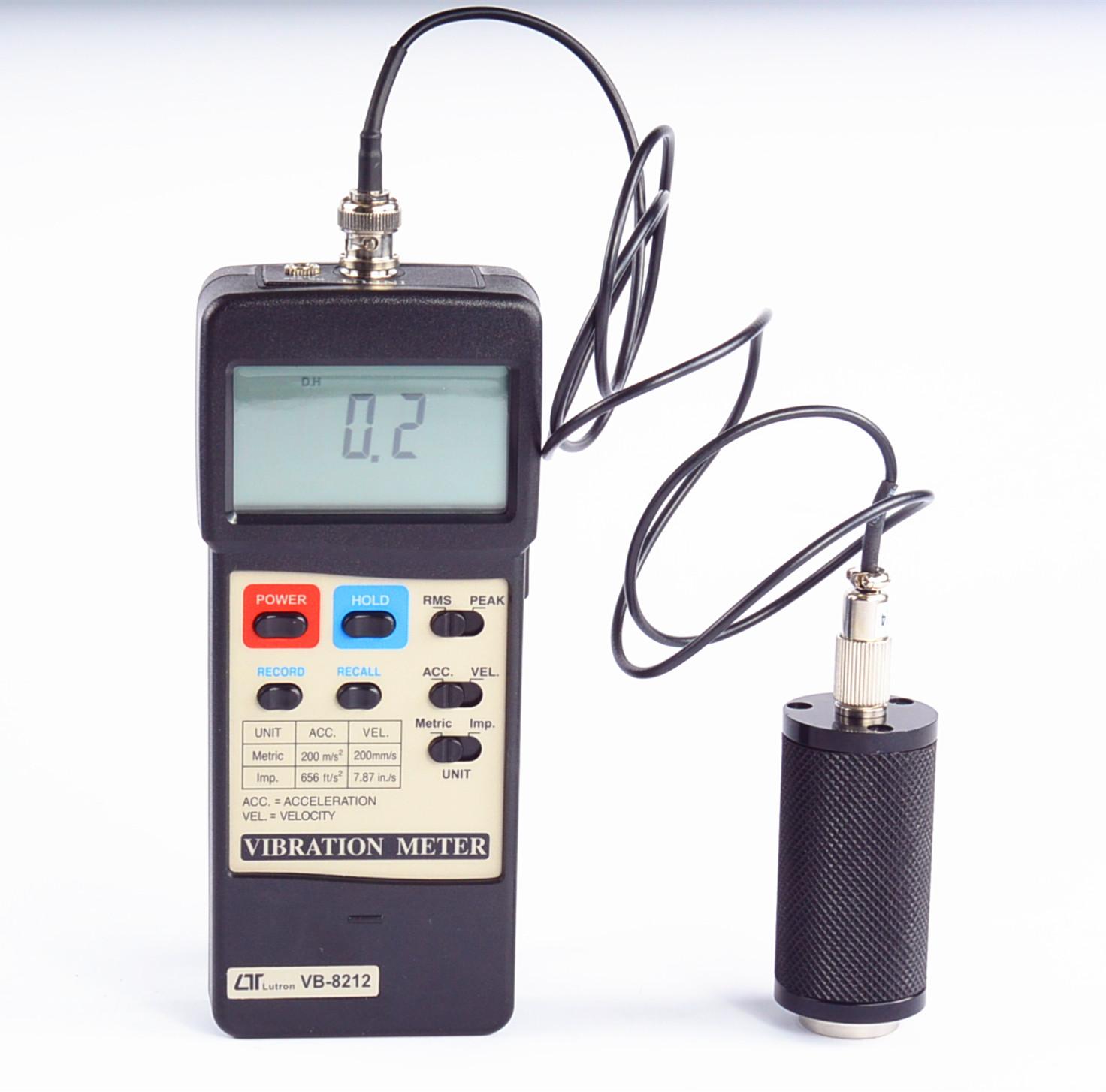 VB-8212 速度加速度振动计(可选配WiFI无线传输模块)