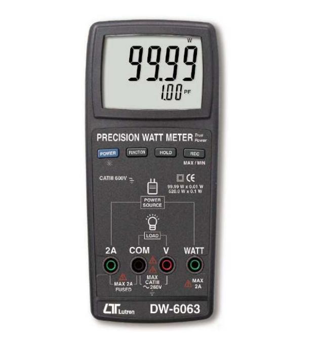 DW-6063 精密型瓦特表
