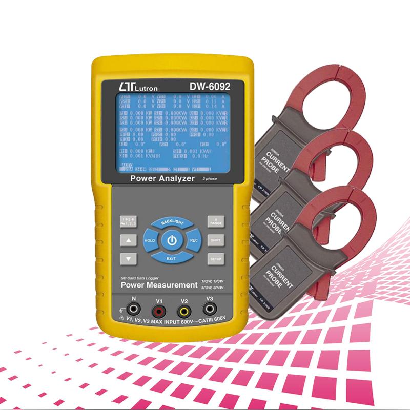 DW-6092 三相电力分析仪
