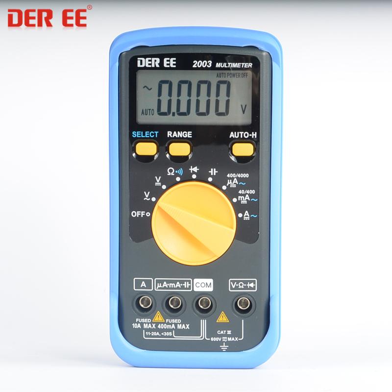 DE-2003数字万用表DE2003