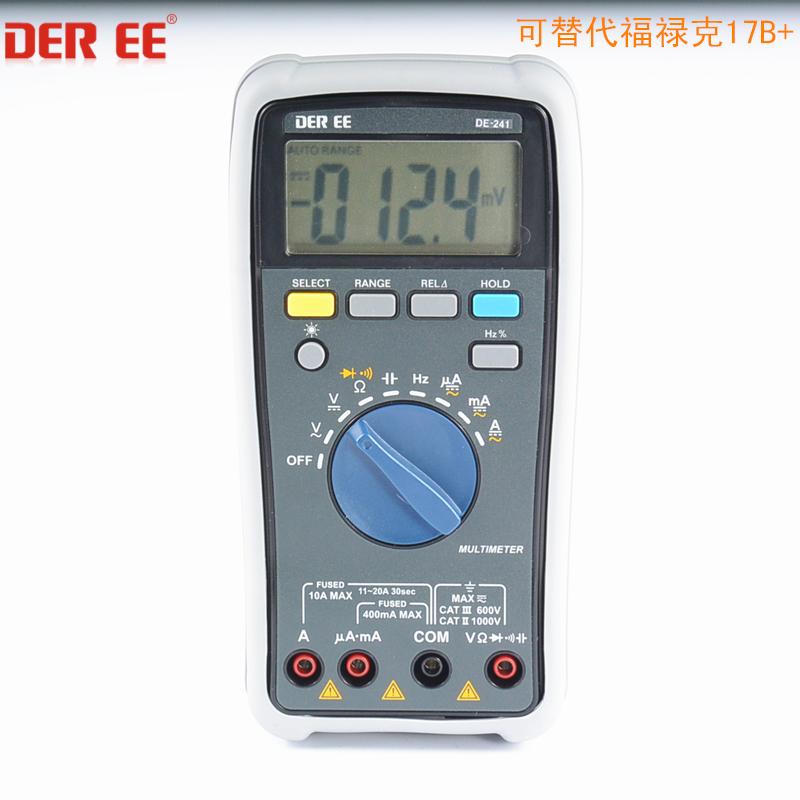 DE-241 数位型万用电表DE241万用表