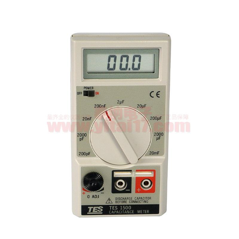 TES-1500 数字电容表