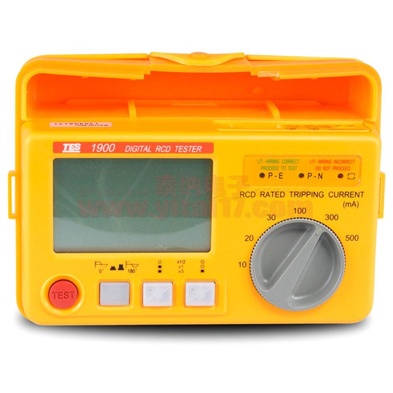 数位漏电保护器测试仪TES-1900A
