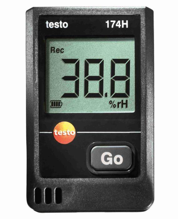 testo 174H 迷你温湿度记录仪套装德图174H