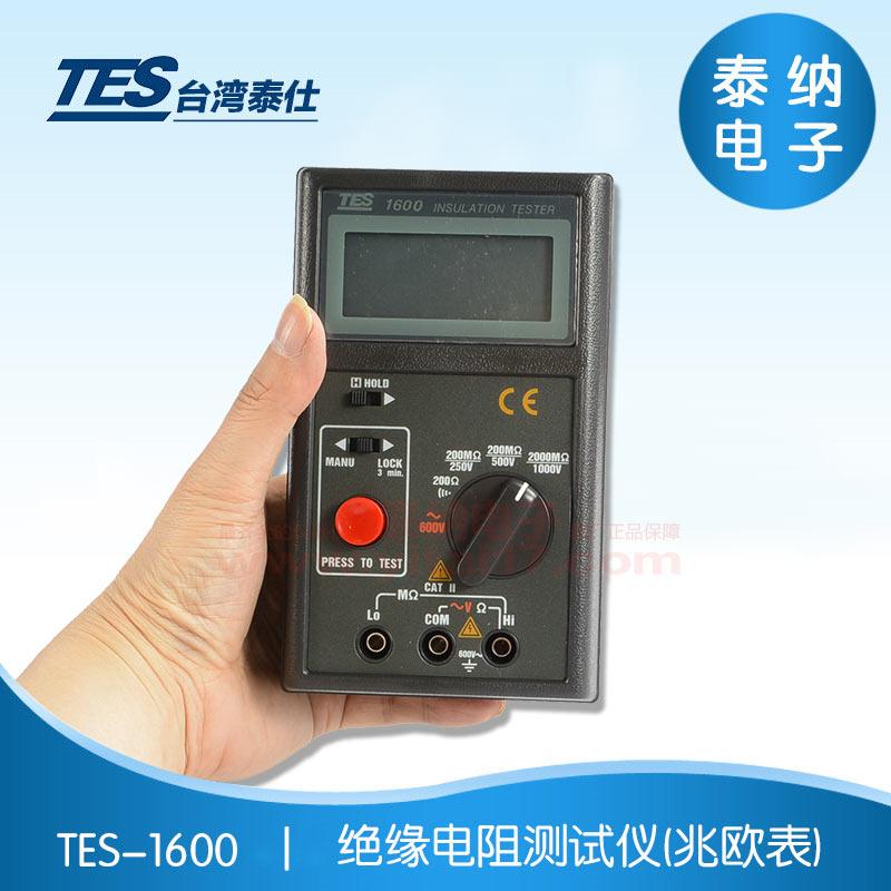 TES-1600 绝缘电阻测试仪(兆欧表)