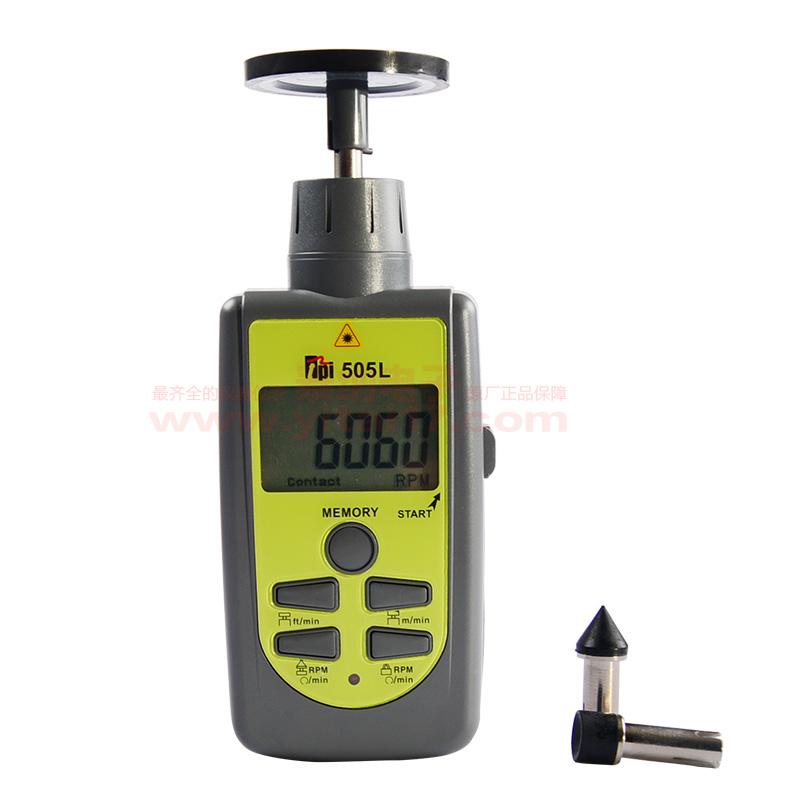 TPI-505L 激光光电/接触转速计