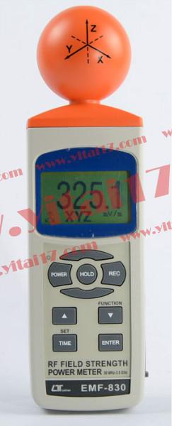 SD 卡实时数据记录RS232/USB RF EMF 电磁场强度计EMF-831SD