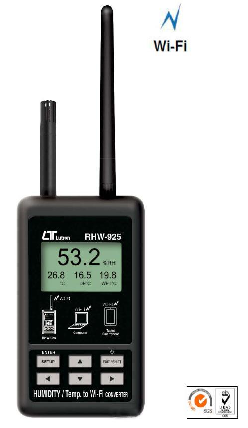 RHW-925无线 Wi-Fi 温湿度计