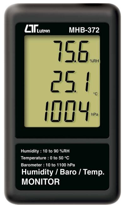 MHB-372湿度/气压计/ 温度 监控