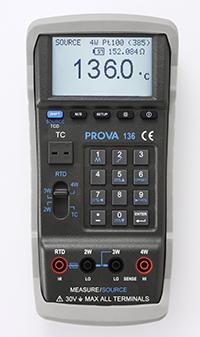 PROVA 136 温度校准仪 (白金电阻+热电偶)
