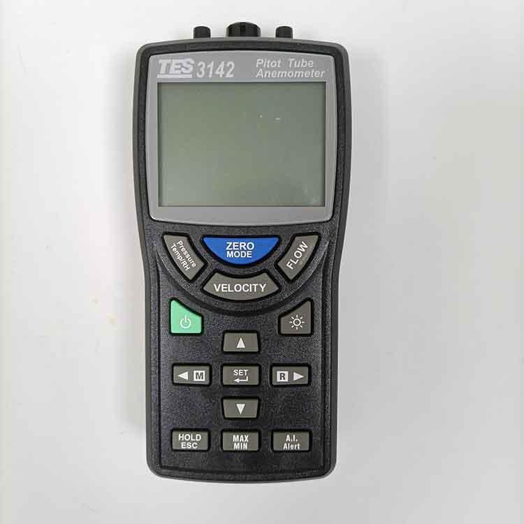 TES-3142皮托管风速差压计