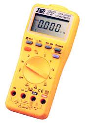 LCR数字万用表TES2802(真均方根/资料收集/温度)