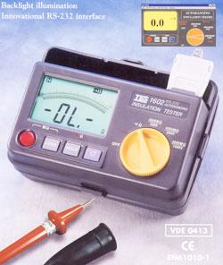 绝缘电阻测试仪TES-1602(停产)