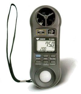 风速、湿度、光照度、温度四合一表TN2280